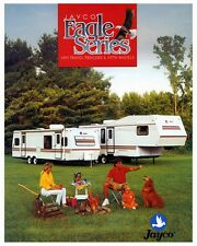 1993 Jayco Eagle Travel Trailer & Fifth Wheel Motorhome RV Photo Poster zca2906
