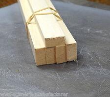 """STRISCIA di legno di balsa a31 1/2 x 1 - 13mm x 25mm lunghezza 12"""" CONF. da 15"""