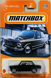 Matchbox 1969 BMW 2002 Black 2021 New Release