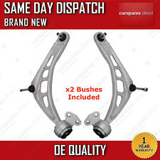 BMW 3 SERIES E46 FRONT LOWER SUSPENSION WISHBONE CONTROL ARMS & BUSHES X2 *PAIR*