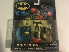 NIB BATMAN ONLY IN JEST BATMAN vs HARLEY QUINN 2 PACK Hasbro