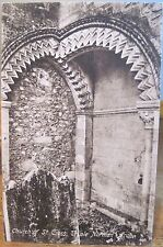 Vtg Postcard Church Of St Cross Norman Arch Winchester England Uk F Frith Series