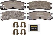 Disc Brake Pad Set-Total Solution Semi-Metallic Brake Pads Rear Monroe DX698