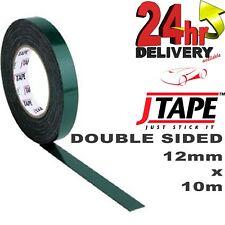 f431a9334 Jtape 12 Mm x 10 M cinta adhesiva de doble cara de montaje  Adornos Insignias Cuerpo Molduras