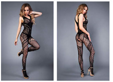 LE FRIVOLE Damen Body/Catsuit 04515-SL (002 black) Gr.36 NEU&OVP