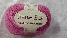 Debbie Bliss Cashmerino Aran #300053 Rose 50g