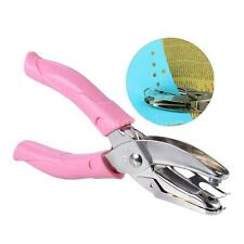 1-Hole Metal Paper Punch Hand-held Single Star Shape Hole Puncher Hand Tool Z7Z8