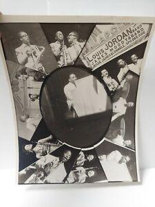 Louis Jordan & James Moody Band Jazz 10 x 8 Music Photo Print R