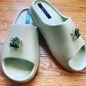 womens slide sandals size 8