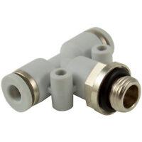 kelm rácores automáticos de plástico - 08mm x 3/8 BSPP Gris Conector't ' macho