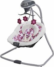 Baby Swing Cradle Infant Rocker Chair Seat Rocking Bassinet Electric Portable