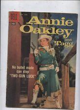 Annie Oakley Comic #15 Dell Western Tv Cowgirl photo cover Two-Gun Luck
