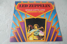 LED ZEPPELIN WHOLE LOTTA LOVE 45