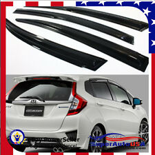 JDM HONDA FIT JAZZ MUGEN RAIN SUN WINDOW VISOR HATCHBACK 2014-2016 GUARD