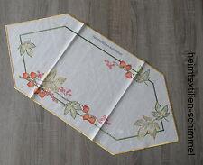 Plauener punta ® mantel lino tischdeckchen tapetes otoño manta 45x90