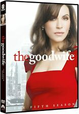 THE GOOD WIFE COMPLETE SERIES 5 DVD 5th Fifth Season Five Original UK Release R2
