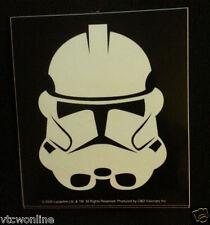 "Star Wars Sticker // Storm Trooper vinyl decal // bumper sticker  // 4"" x 4.5"" /"