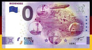 0 Euro Souvenir Schein 2021 BODENSEE / XERC 2021-5 Anniversary Edition