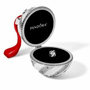 PANDORA 2018 Limited Edition Holiday Christmas ORNAMENT CHARM Sterling Silver