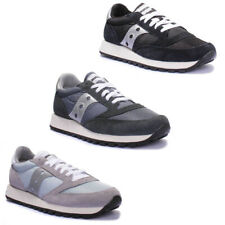 Saucony Jazz Original Womens Black Grey Navy Trainers UK Size 3 - 12