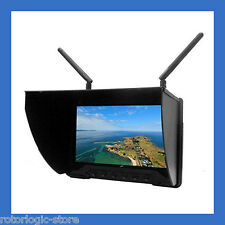"FlySight Black Pearl RC801 FPV 7"" HD monitor 5.8G receivers - OPEN BOX"