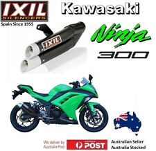 Kawasaki Ninja 300 2012-2013-2014-2015-2016-2017 IXIL L3X Black slip-on exhaust