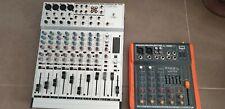 lot x2 Table de mixage BEHRINGER MX1604A  + IBIZA SOUND MX401