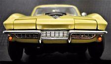 1 Chevy 1960s Vette Corvette Sport Race 18 Car 64 Vintage 24 Carousel Yellow 12