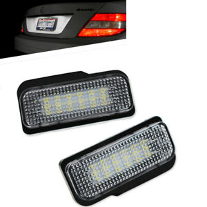 For Mercedes-Benz W203 W211 W219 R171 LED Error Free License Plate Light MO