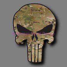 "Yeti Multicam Army Punisher 2.75"" Phone Yeti Decal Sticker"