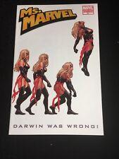 Ms. MARVEL #31 Carol Danvers VARIANT Cover Captain Marvel Movie