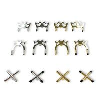 High Quality Snooker Pool Cue Brass / Chrome Cross & Spider Holder Rest Head