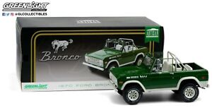 GreenLight 1:18 Artisan Collection - 1970 Ford Bronco Buster 19084