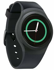Brand New Samsung Gear S2 Sport SM-R720 Smart Watch, Dark Grey, Android & iPhone