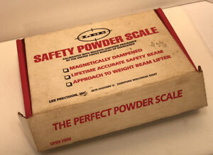 LEE SAFETY POWDER SCALE #90681 New Open Box