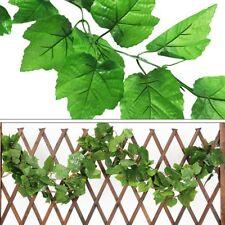 240cm Artificial Ivy Leaf Garland Plants Plastic long green Vine Fake Foliage