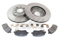 Bremsensatz, Scheibenbremse für Bremsanlage Vorderachse MAPCO 47685