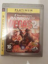 Rainbow Six Vegas 2 para PS3 en español nuevo y sellado disco físico