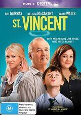St. Vincent (DVD, 2015) Bill Murray, Melissa McCarthy, Naomi Watts