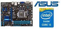 Mainboard Sockel 1155 Asus P8H61-MX USB3  Intel i5 3330 4x3,0GHz 4GB DDR3