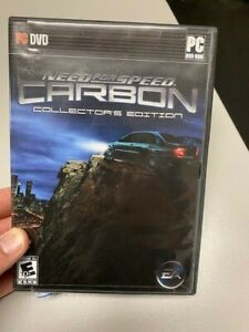 Need For Speed: Carbon - Collector's Edition PC DVD 2006 EA  2 Discs