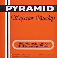 Pyramid E-Bass Black Tape Nylon 4-string, Short Scale