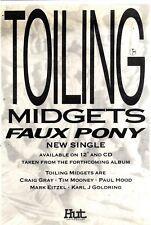 "16/1/93PGN13 SINGLE ADVERT 7X5"" TOILING : MIDGETS / FAUX PONY"