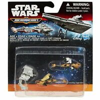 Brand New Star Wars Return of the Jedi Micro Machines Endor Forest Battle 3-Pack