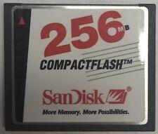 Sandisk SDCFBI-256-101-00 256MB Compact Flash Card
