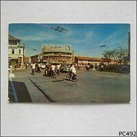 View of Penang Road 1970 Postcard (P492)