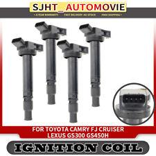 4Pcs Ignition Coils fit Toyota Camry Vienta ASV50 2AR-FE 4Cyl 2.5L 2011-2013
