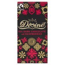 Chocolat Noir Divine À La Framboise 100G