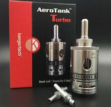 100% Kangertech Aerotank Turbo  Stainless Steel 6ml tank in stock welcom to buy!