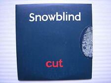 Snowblind - Cut (Non ouvert CD emballé) PROMO COPY CD